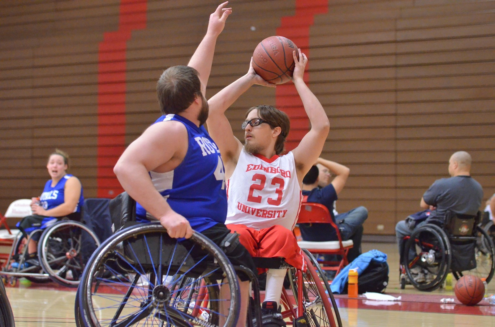 Four Scots Score in Double Digits in 58-33 Win over